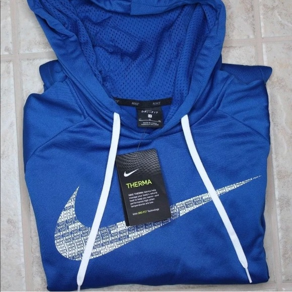 Nike Dri Fit Therma Hoodie Size Large Tall f2dc32de2